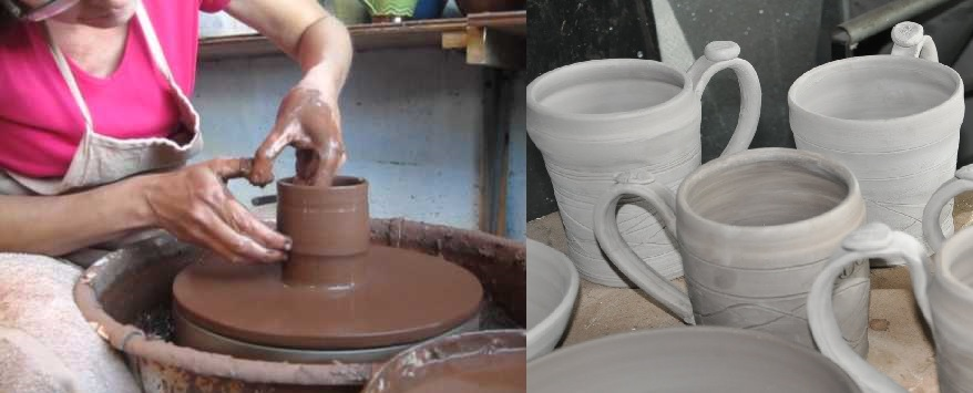 Making of Beer Steins