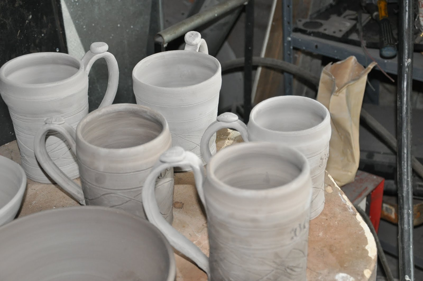 German porcelain steins