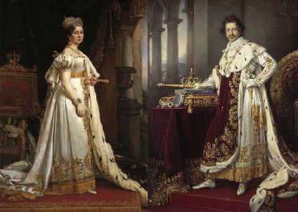 Prince Ludwig and Princess Therese Charlotte Luise