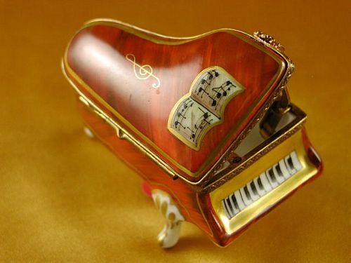 LIMOGES BOXES - MINI PIANO