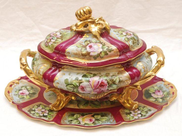 the history of limoges porcelain. Black Bedroom Furniture Sets. Home Design Ideas