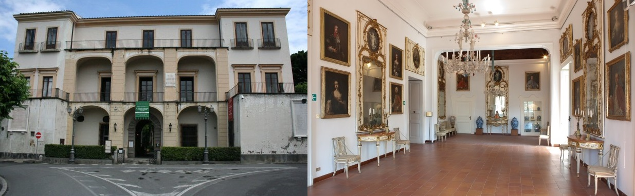 The Correale Museum in Sorrento, Italy