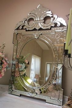 Venetian Mirrors – Art, Tradition, History and Decor Objects
