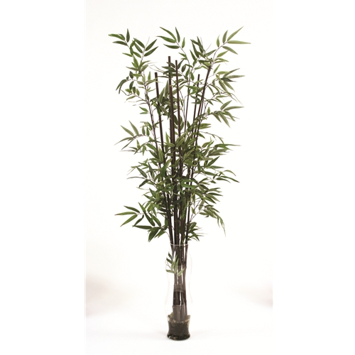 Waterlook 174 Faux Bamboo In A Tall Double Bubble Glass