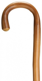 Extra Tall Crook Handle- Natural Chestnut