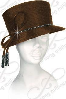 Year-Round Stovepipe Hat with Signature Tied Bow Church Hats
