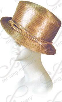 Small brim with rhinestone band Church Hats
