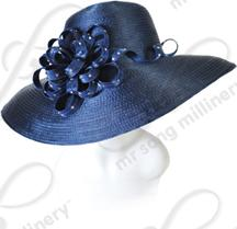Umbrella brim with Signature Flower Church Hats