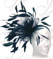 Feathered Whimsy Church Hats