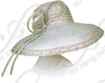 Rounded Crown Hat with Signature Tied Bow Church Hats