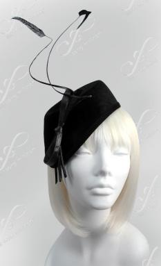 Beret style Church Hat