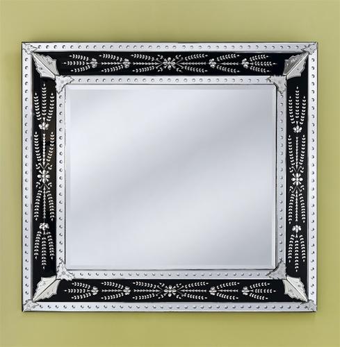 Eleina black venetian mirror 1001shops co for Black venetian mirror