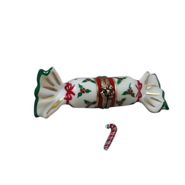 Christmas cracker w/candy cane