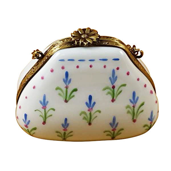BLUE BONNET PURSE