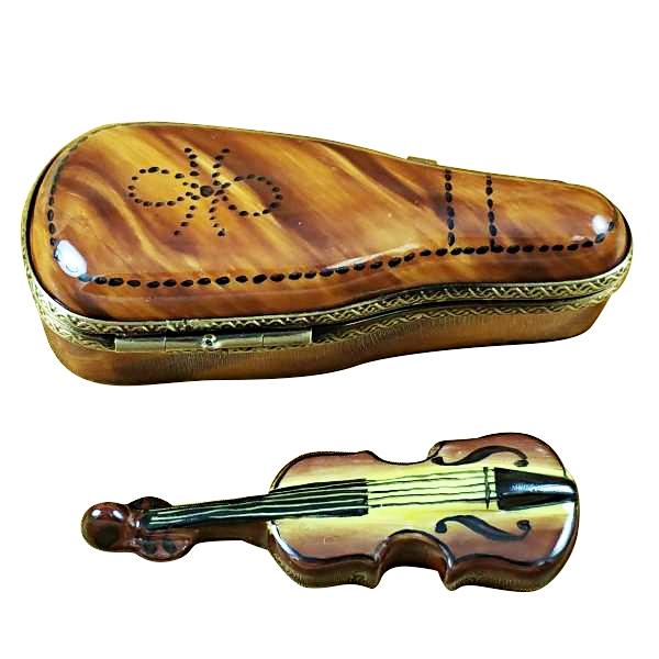 Maplewood violin case w/violin