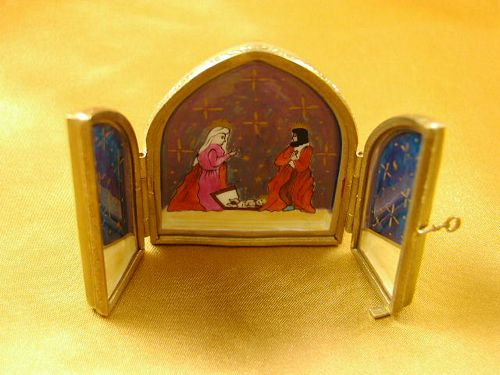 NATIVITY- TRIPTYCH