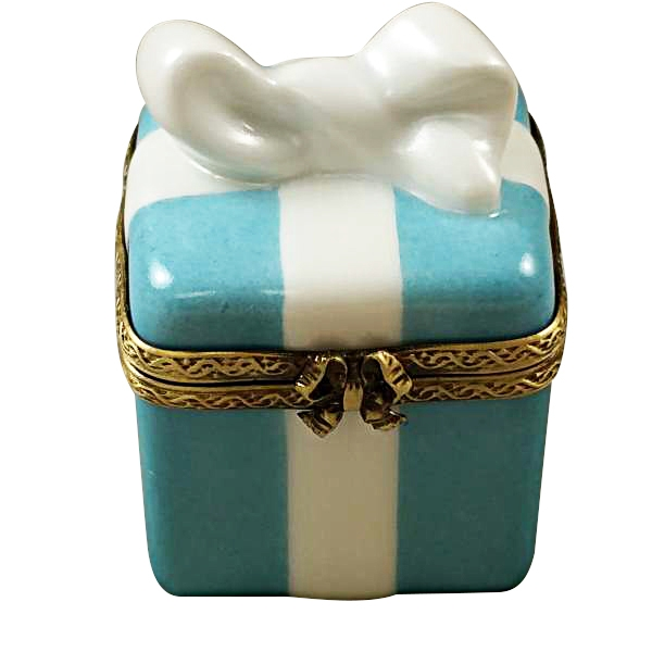 TIFFANY BLUE GIFT BOX - Limoges Boxes and Figurines - Limoges ...