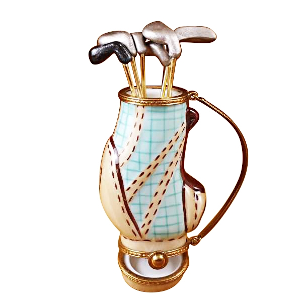 GOLF BAG W/ 6 CLUBS