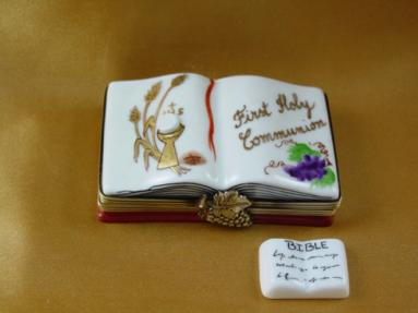 First holy communion book