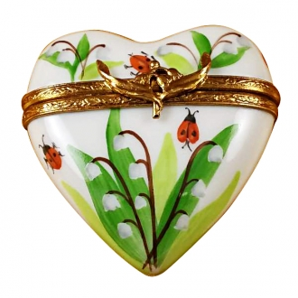 Lily of the valley heart
