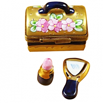 Make-up case w/lipstick