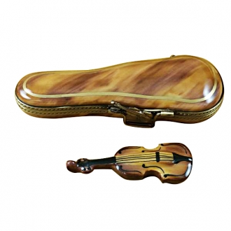 VIOLIN IN BROWN CASE