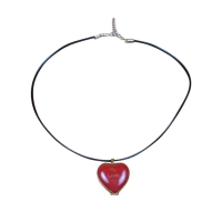 Red My love Heart With Pendant