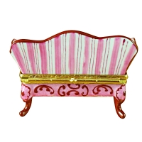 PINK TOILE COUCH