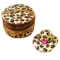 LEOPARD HAT BOX