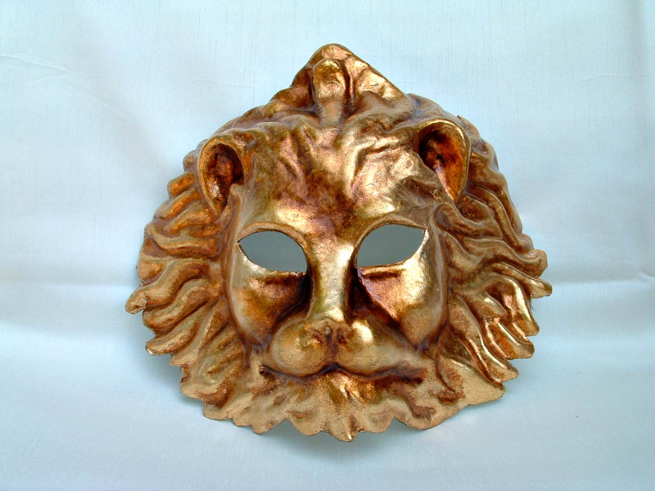 Lion Gold Decor Venetian Mask