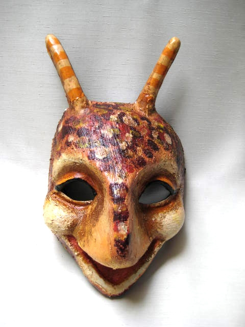 Cricket Venetian Mask