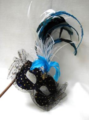 Elfe with Plume Stick Dark Blue
