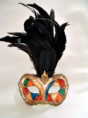 Galletto Arlecchino Black Feathers