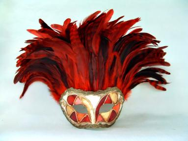 Incas Arlecchino Red Tiger Feathers