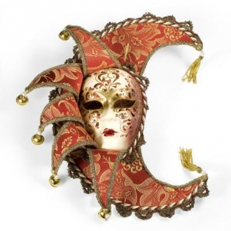 Venetian Sole Luna Mask
