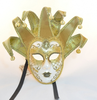 Golden Jolly Mask