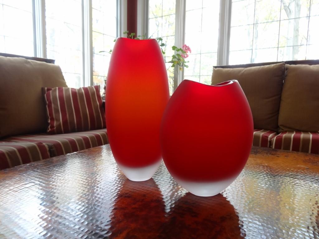 Murano glass vaso alto rosso satinato tall vase red satin murano murano glass vaso alto rosso satinato tall vase red satin reviewsmspy