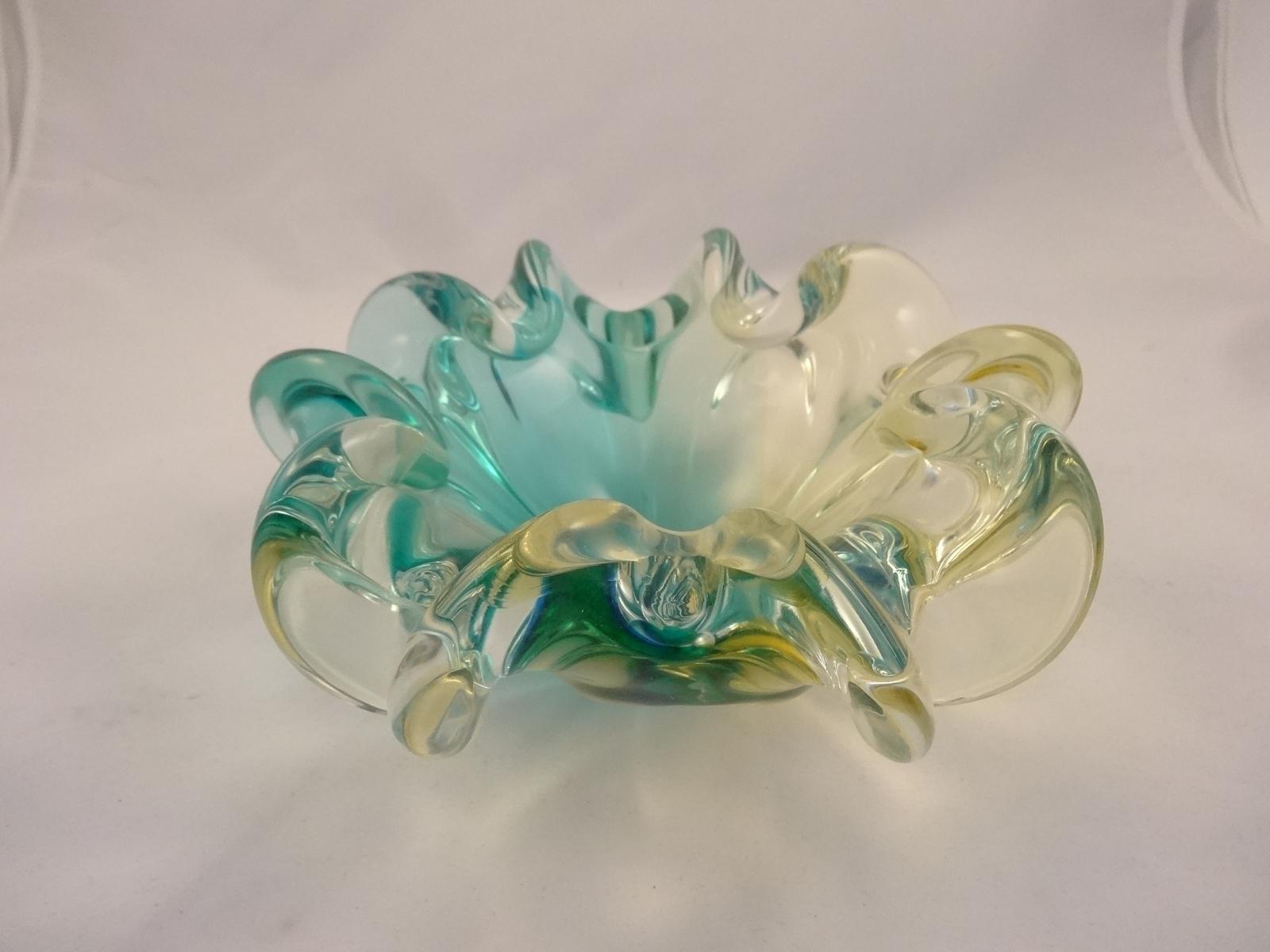 Amber Murano Glass