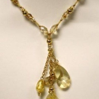 Pregio Necklace Murano Glass