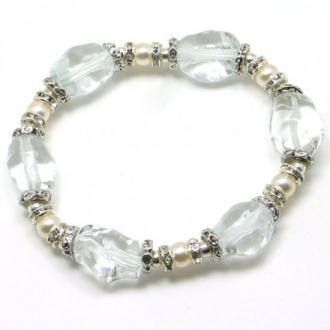 Magic murano glass pearl bracelet