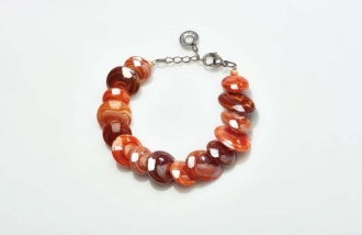 Magic Murano Glass Bracelet Red