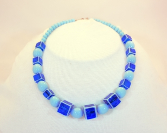 Cubo Bead Murano Glass Necklace