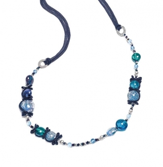 Murano Glass Necklace Long
