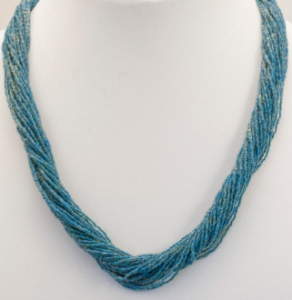 Twist Turquoise Necklace