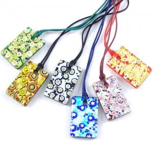 Murano Glass Pendant Colorful Assortment