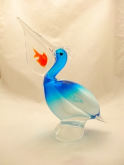 Murano Glass Pelican