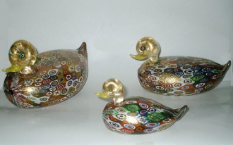 Murrine Duck Large