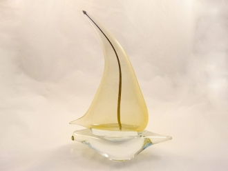 Murano Glass Boat