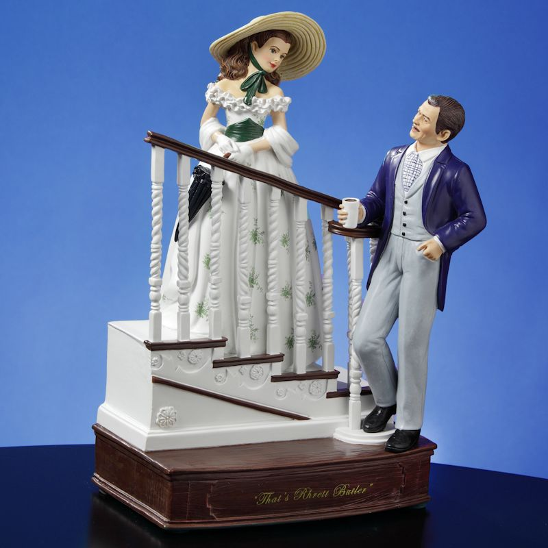 'Why That's Rhett Butler' Figurine