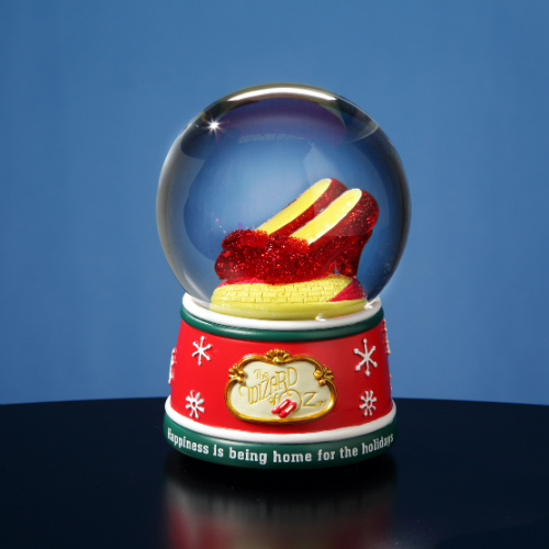 'Ruby Slippers' Home for the Holidays 85mm Water Globe